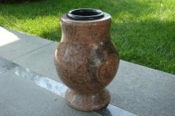 """nagrobna vaza granit """"multicolor"""""""