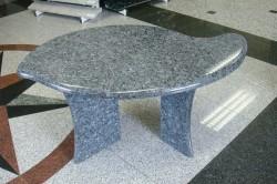 """klubska mizica granit """"blue peral"""""""