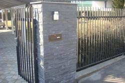 """obloga ograje dekorativni kamen """"črni"""""""