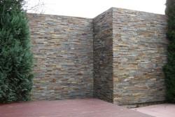 """stena na terasi dekorativni kamen """"multicolor"""""""