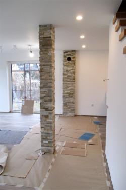 """obloga stebra dekorativni kamen """"peščen"""""""