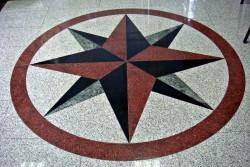 kompas vzorec v tlaku