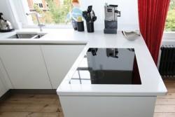 kuhinjski pult quartz milky white