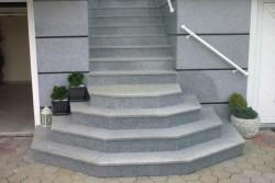 "zunaje stopnice granit ""impala fuoco"""
