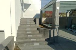 "stopnice, tlak, stebri granit ""impala fuoco"""